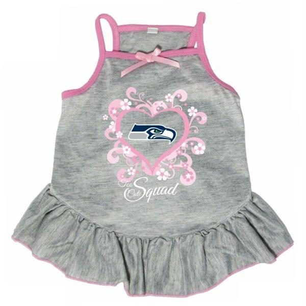 "Seattle Seahawks ""Too Cute Squad"" Pet Dress - staygoldendoodle.com"