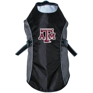 Texas A&M Aggies Water Resistant Reflective Pet Jacket - staygoldendoodle.com