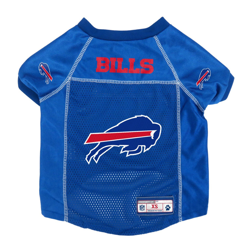 Buffalo Bills Mesh Pet Jersey - Small - staygoldendoodle.com