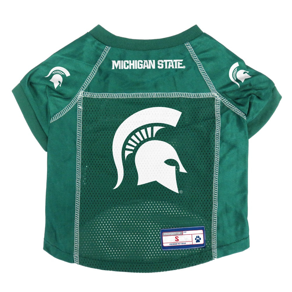 Michigan State Spartans Pet Mesh Jersey - staygoldendoodle.com