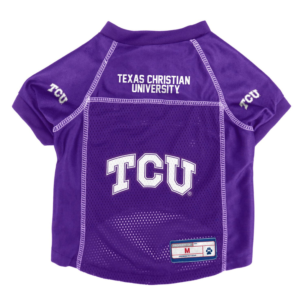 TCU Horned Frogs Mesh Pet Jersey - staygoldendoodle.com