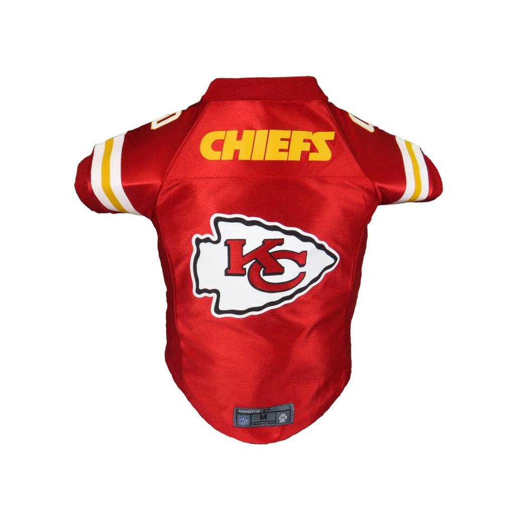 Kansas City Chiefs Pet Premium Jersey - XL - staygoldendoodle.com
