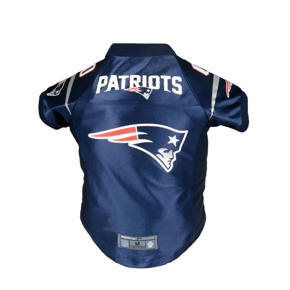 New England Patriots Pet Premium Jersey - staygoldendoodle.com