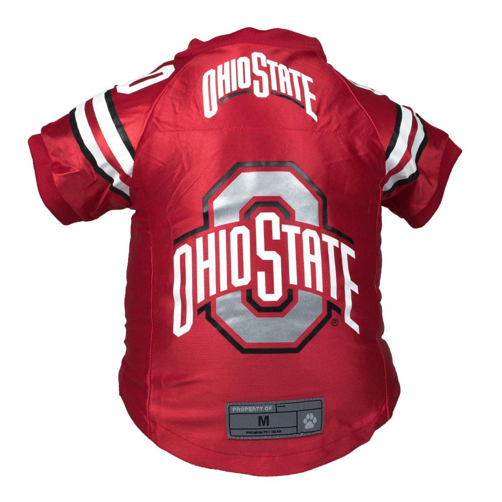 Ohio State Buckeyes Pet Premium Jersey - staygoldendoodle.com