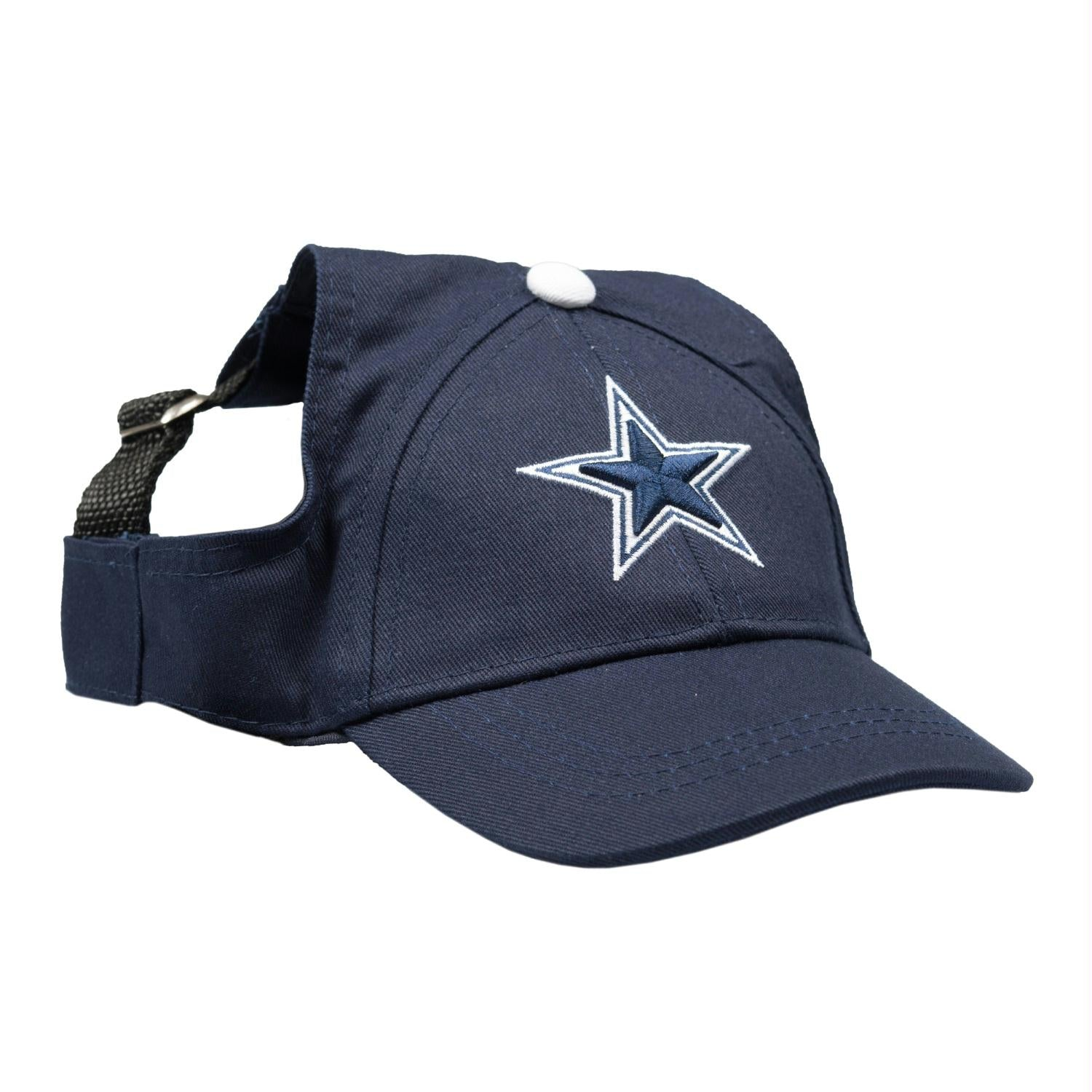 Dallas Cowboys Pet Baseball Hat - staygoldendoodle.com