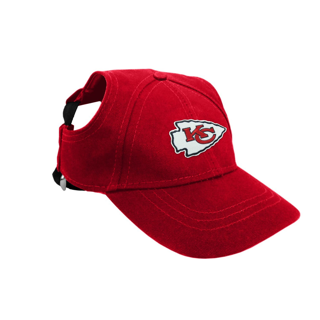 Kansas City Chiefs Pet Baseball Hat - staygoldendoodle.com