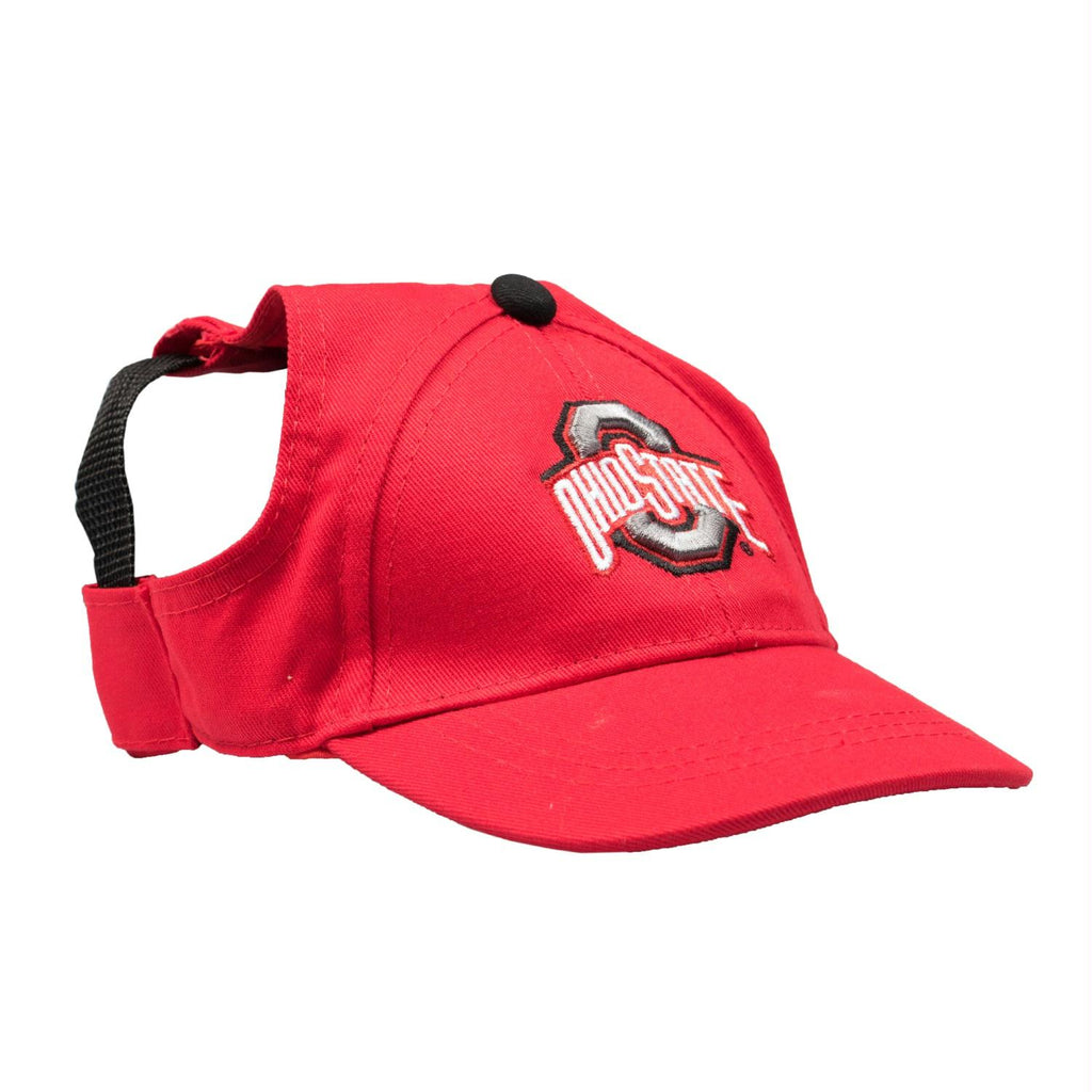 Ohio State Buckeyes Pet Baseball Hat - staygoldendoodle.com
