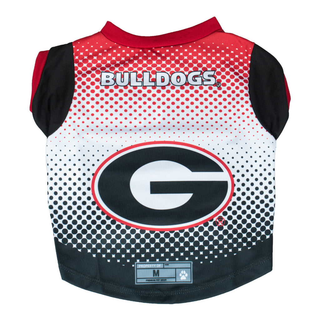 Georgia Bulldogs Pet Performance Tee - staygoldendoodle.com