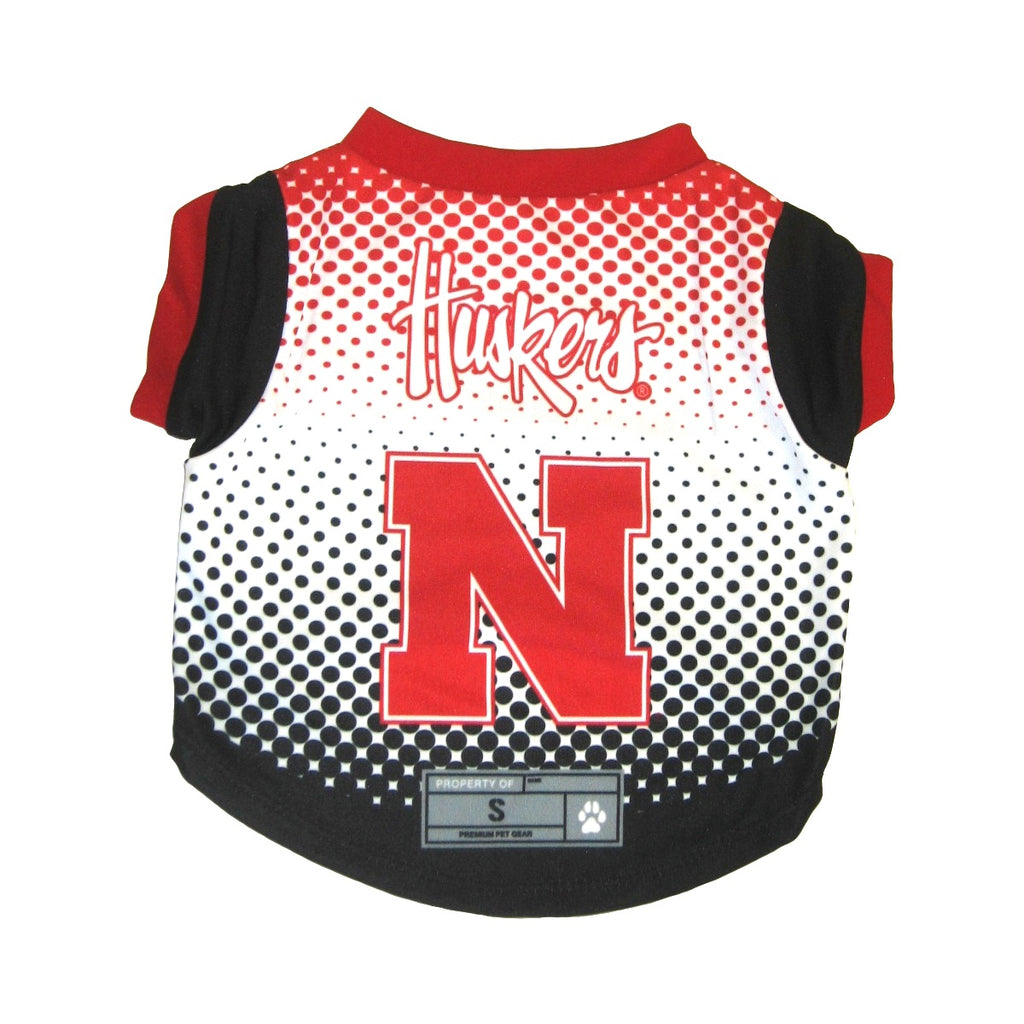 Nebraska Huskers Pet Performance Tee - staygoldendoodle.com