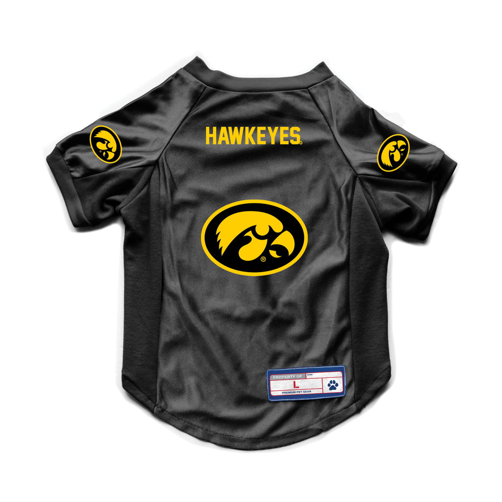 Iowa Hawkeyes Pet Stretch Jersey - staygoldendoodle.com