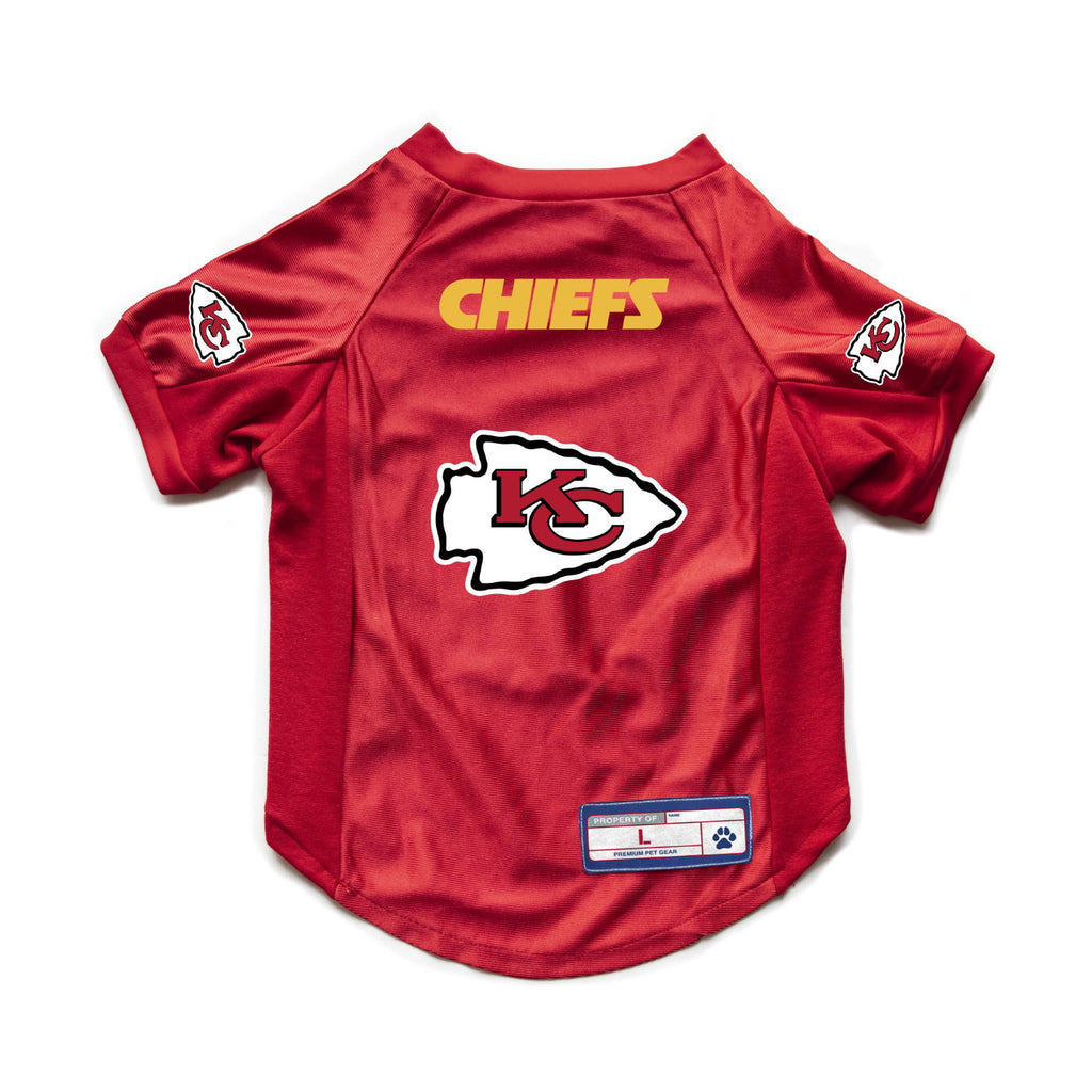 Kansas City Chiefs Pet Stretch Jersey