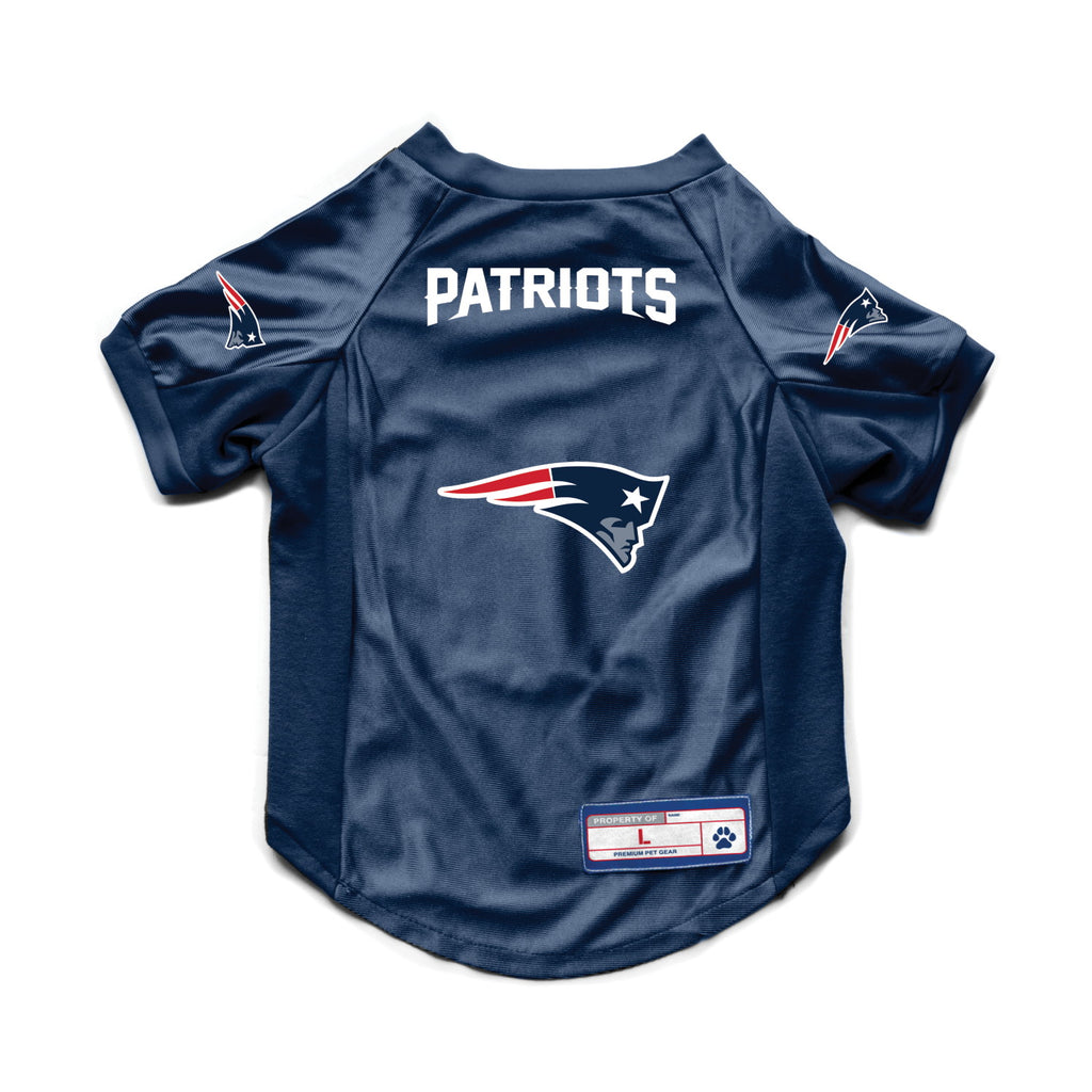 New England Patriots Pet Stretch Jersey - staygoldendoodle.com