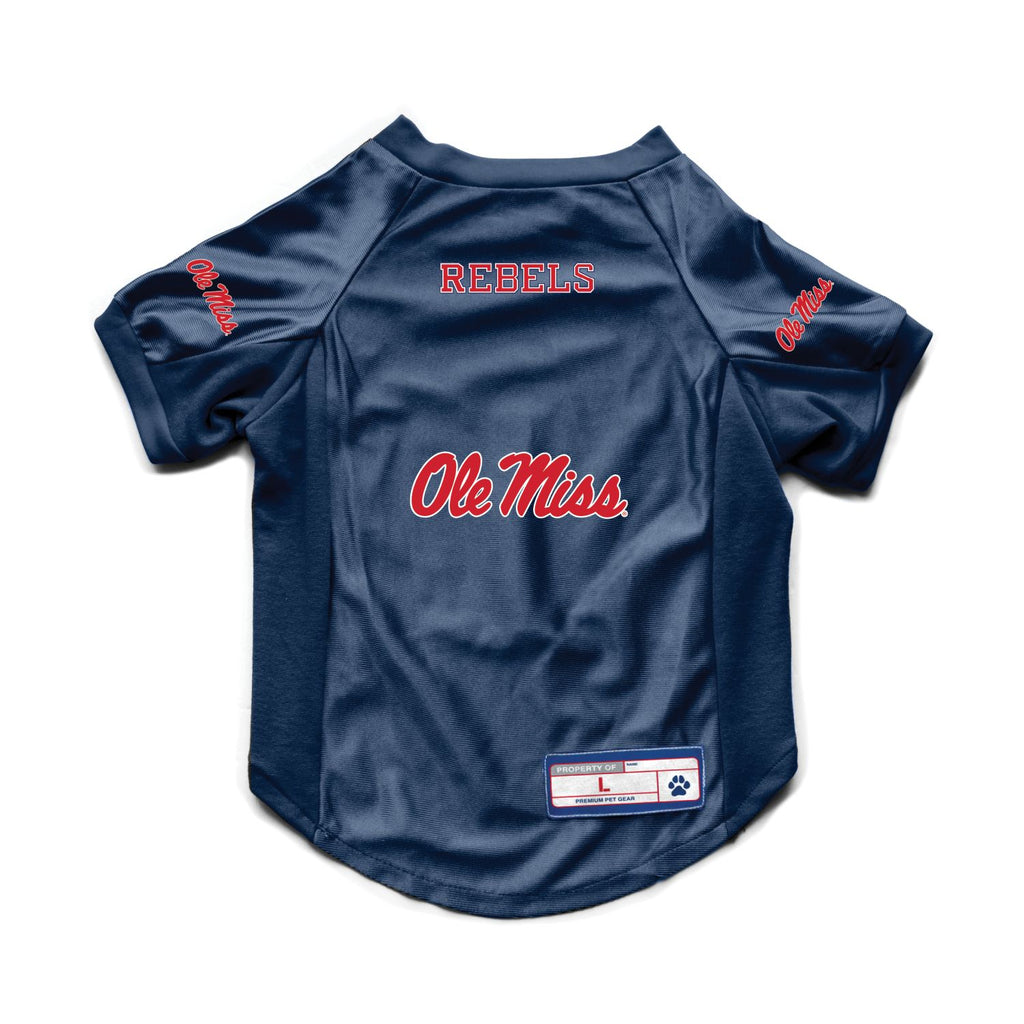Ole Miss Rebels Pet Stretch Jersey
