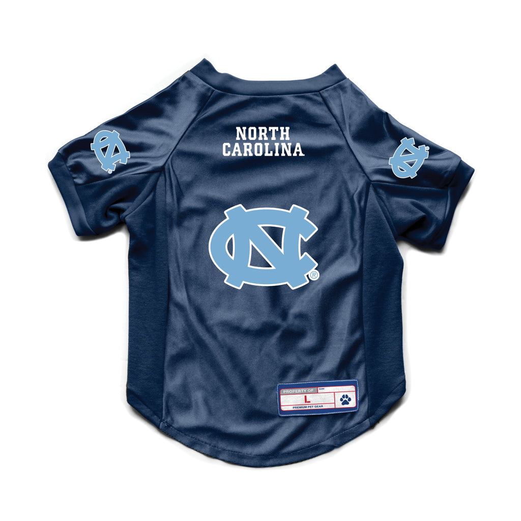 North Carolina Tarheels Pet Stretch Jersey - staygoldendoodle.com