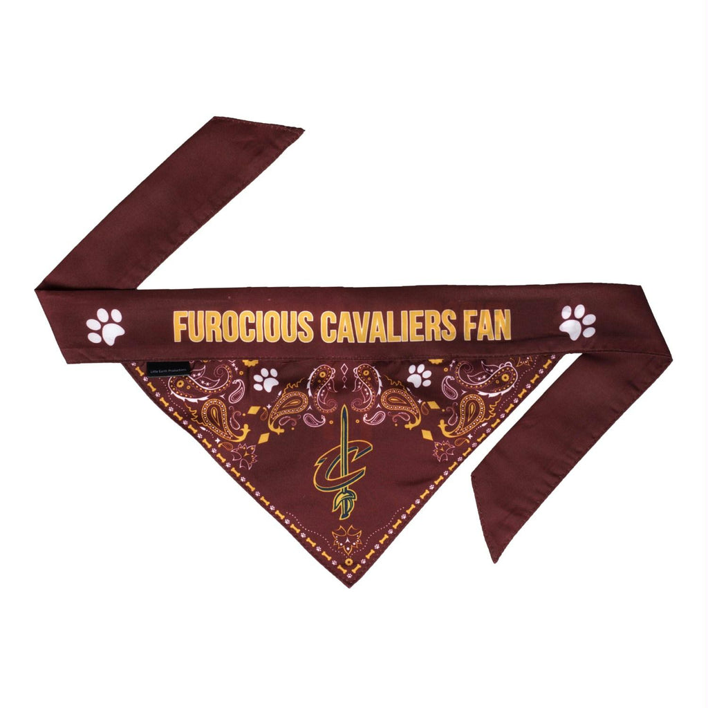 Cleveland Cavaliers Pet Reversible Paisley Bandana - staygoldendoodle.com