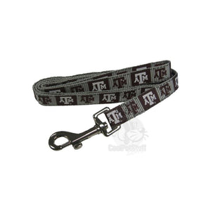 Texas A&M Aggies Pet Reflective Nylon Leash - staygoldendoodle.com