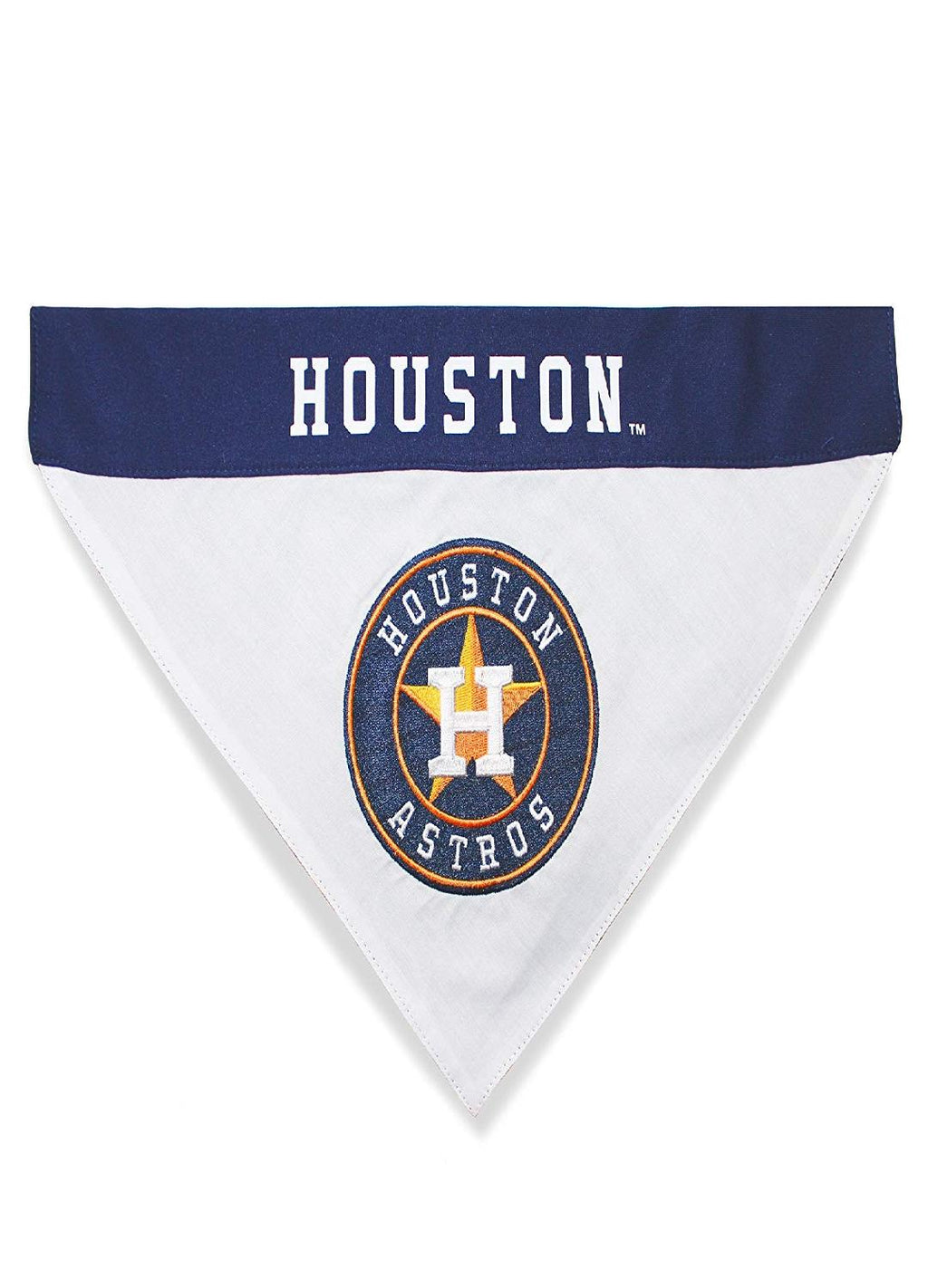 Houston Astros Pet Reversible Bandana - staygoldendoodle.com