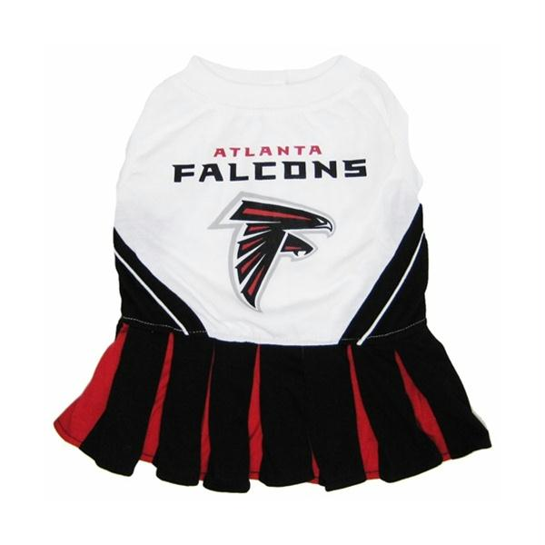 Atlanta Falcons Cheerleader Dog Dress - staygoldendoodle.com