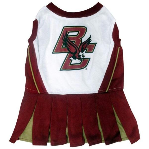 Boston College Eagles Cheerleader Pet Dress - staygoldendoodle.com