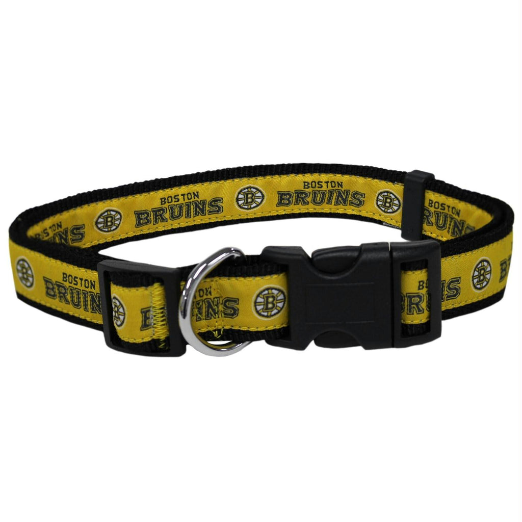 Boston Bruins Pet Collar by Pets First - staygoldendoodle.com