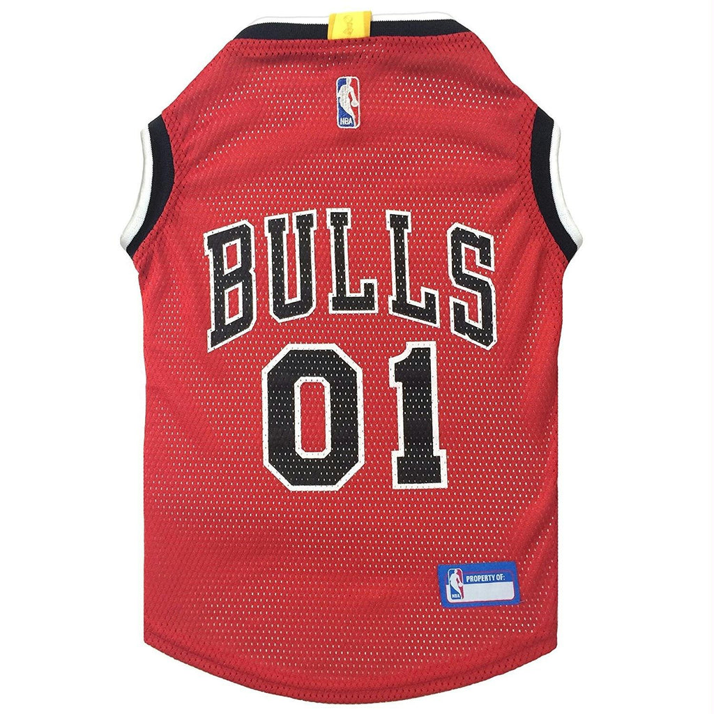 Chicago Bulls Pet Jersey - staygoldendoodle.com