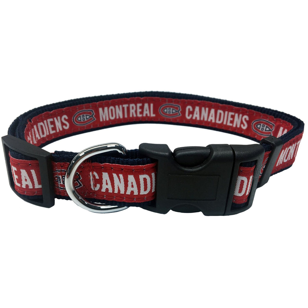 Montreal Canadiens Pet Collar by Pets First - staygoldendoodle.com