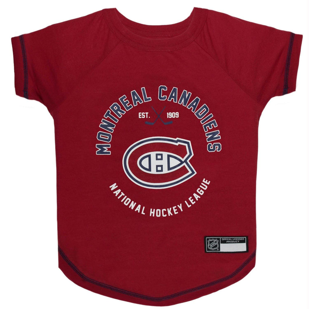 Montreal Canadiens Pet T-Shirt - staygoldendoodle.com