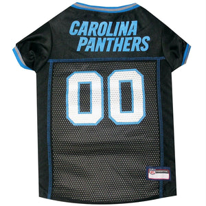 Carolina Panthers Dog Jersey - staygoldendoodle.com