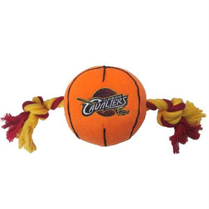 Cleveland Cavaliers Basketball Pet Toy - staygoldendoodle.com