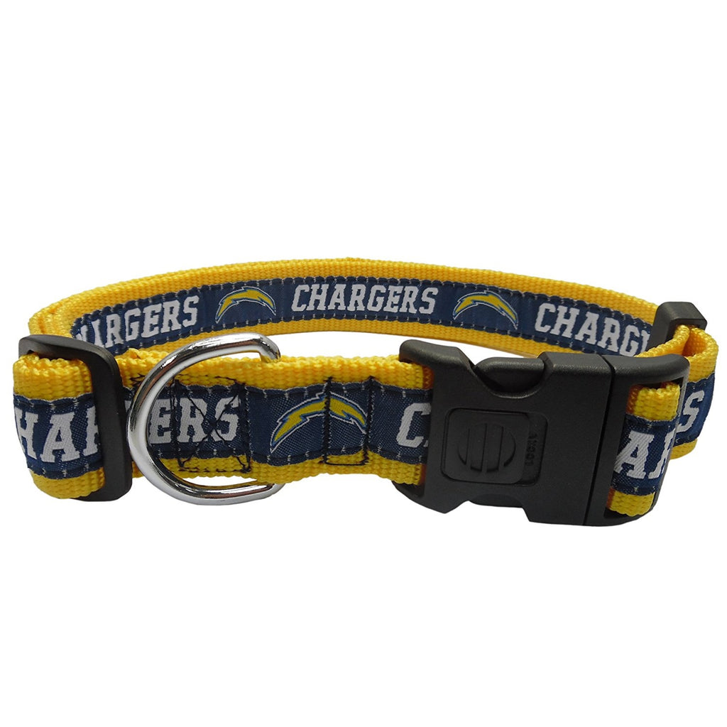 Los Angeles Chargers Pet Collar by Pets First - staygoldendoodle.com