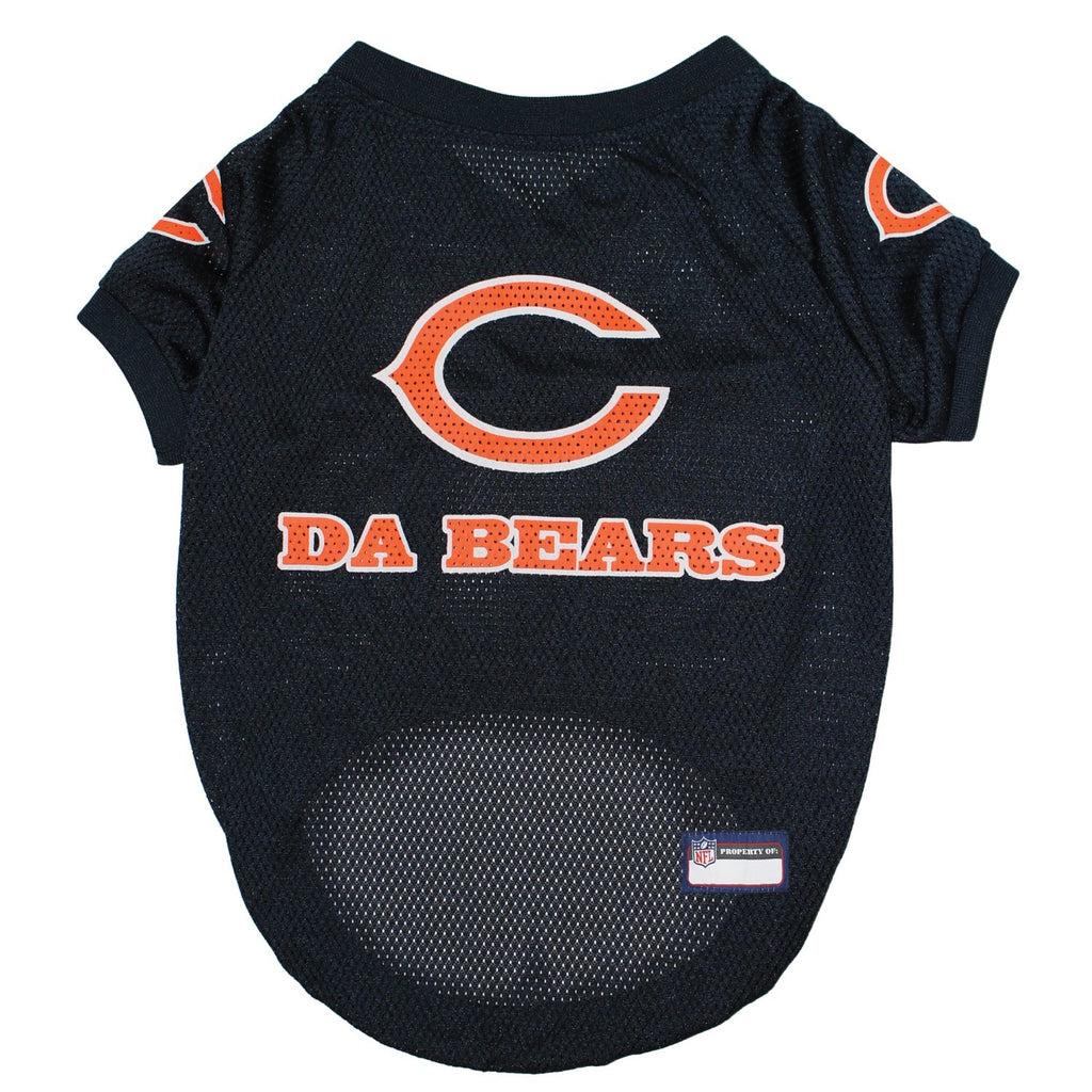 "Chicago Bears ""Da Bears"" Pet Jersey - XS - staygoldendoodle.com"