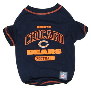 Chicago Bears Dog T-Shirt - staygoldendoodle.com