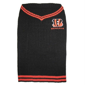 Cincinnati Bengals Dog Sweater - staygoldendoodle.com