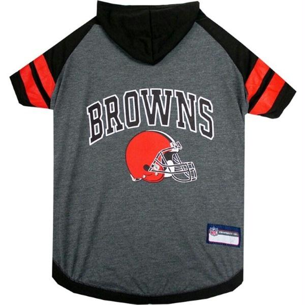 Cleveland Browns Pet Hoodie T-Shirt - staygoldendoodle.com