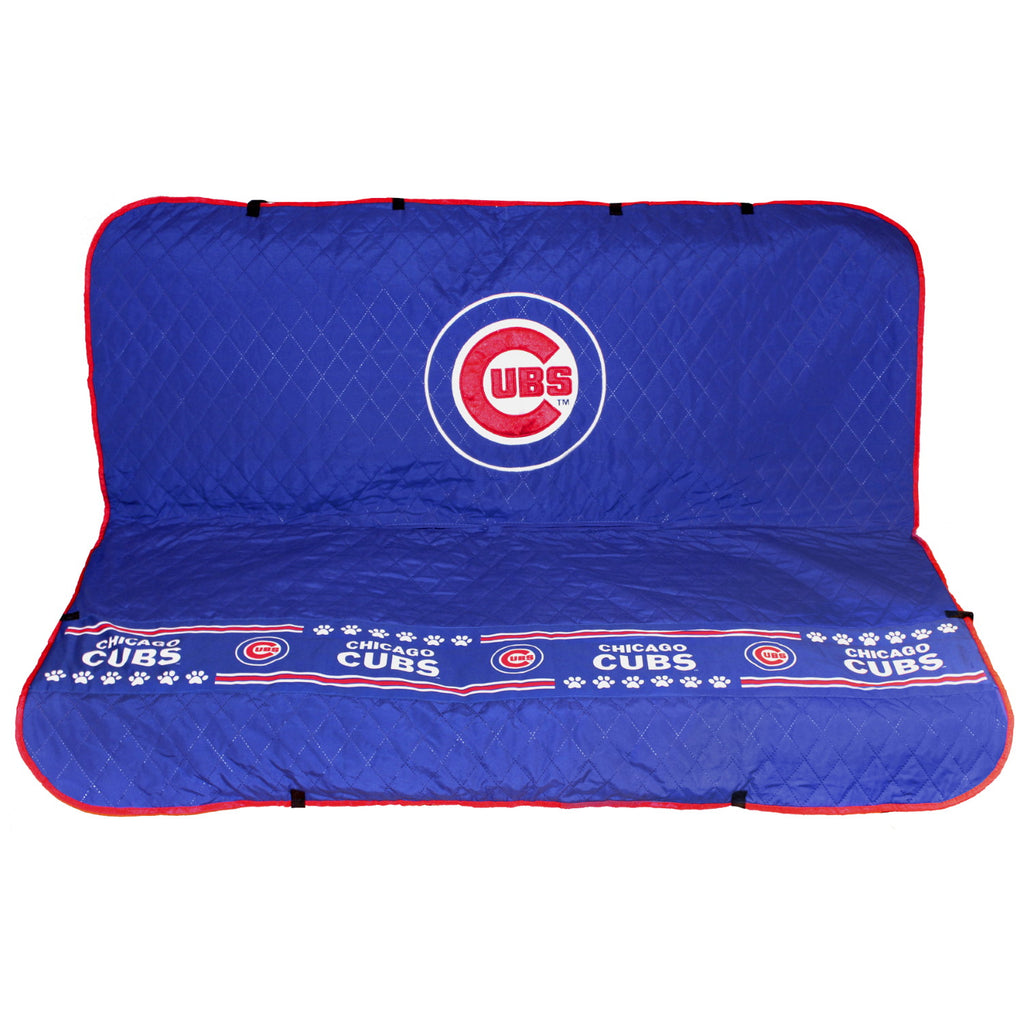 Chicago Cubs Pet Car Seat Cover - staygoldendoodle.com