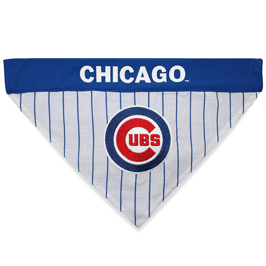 Chicago Cubs Pet Reversible Bandana - S/M - staygoldendoodle.com