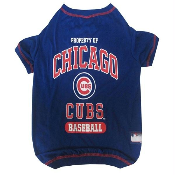 Chicago Cubs Pet T-Shirt - staygoldendoodle.com