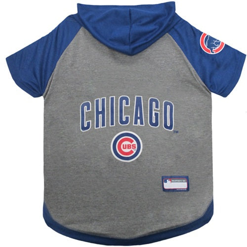Chicago Cubs Pet Hoodie T-Shirt - staygoldendoodle.com