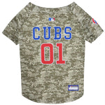 Chicago Cubs Pet Camo Jersey - staygoldendoodle.com
