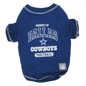 Dallas Cowboys Dog T-Shirt - staygoldendoodle.com