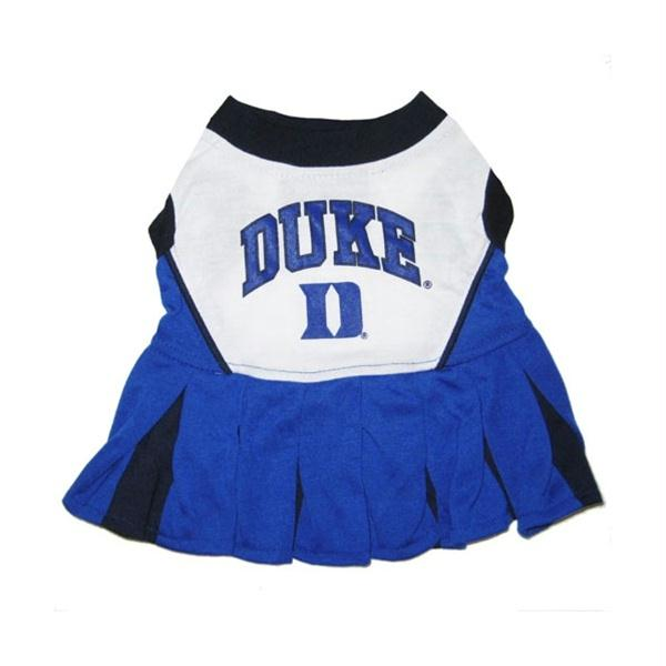 Duke Blue Devils Cheerleader Dog Dress - staygoldendoodle.com
