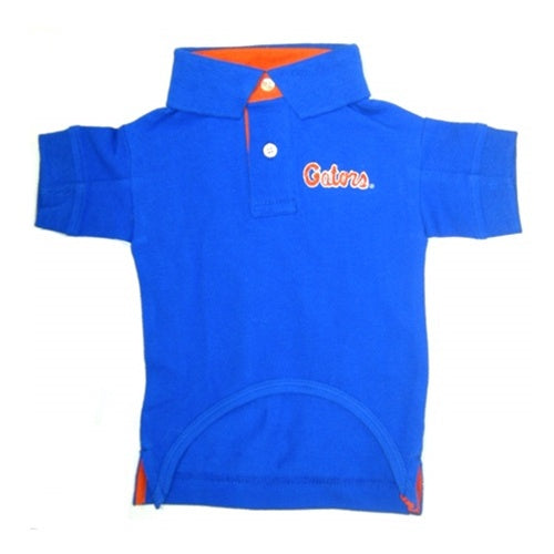 Florida Gators Dog Polo Shirt