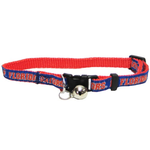 Florida Gators Breakaway Cat Collar - staygoldendoodle.com