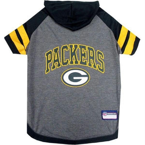 Green Bay Packers Pet Hoodie T-Shirt - staygoldendoodle.com