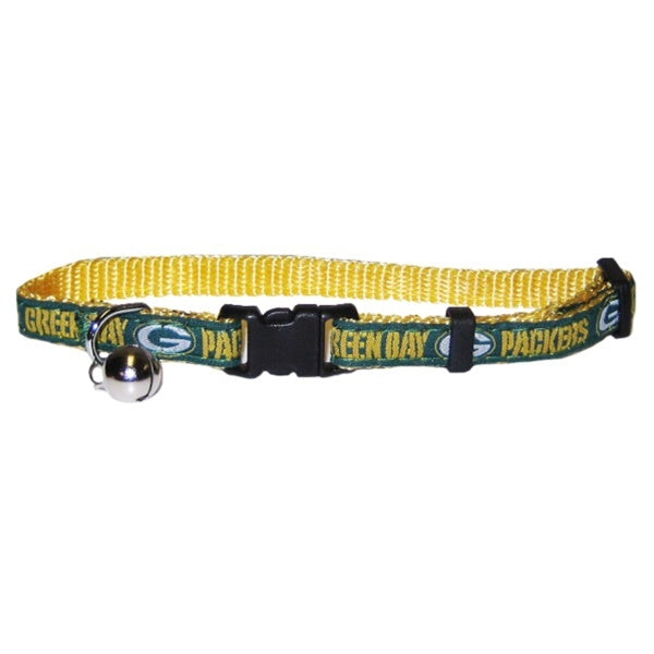Green Bay Packers Breakaway Cat Collar - staygoldendoodle.com