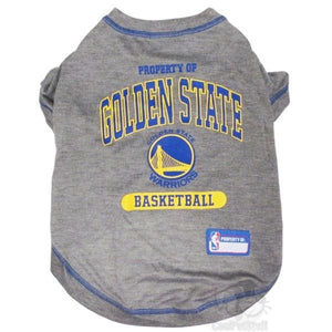 Golden State Warriors Pet T-Shirt - staygoldendoodle.com