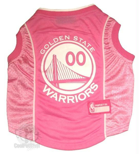 Golden State Warriors Pink Pet Jersey - staygoldendoodle.com