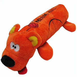 Miami Heat Plush Tube Pet Toy - staygoldendoodle.com