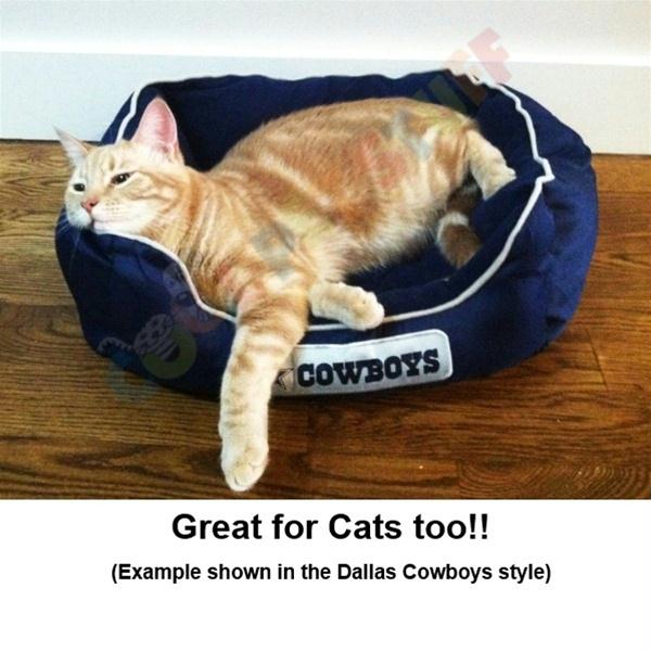 Houston Texans Pet Bed - staygoldendoodle.com