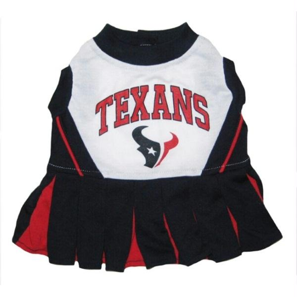 Houston Texans Cheerleader Dog Dress - staygoldendoodle.com